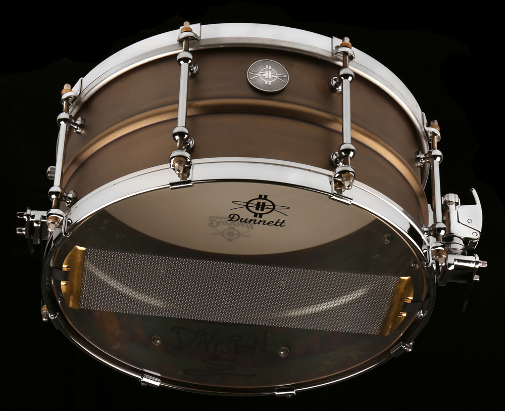 6.5 x 14 Model 2N Brass w/ CR hoops
